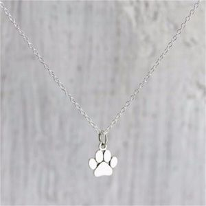 Jewelry - Paw Necklace Silver Color